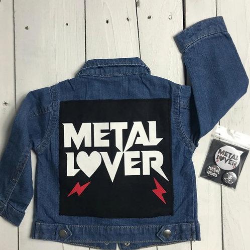METAL LOVER    ג'קט ג'ינס