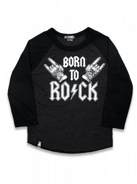 BORN TO ROCK   | חולצה ארוכה