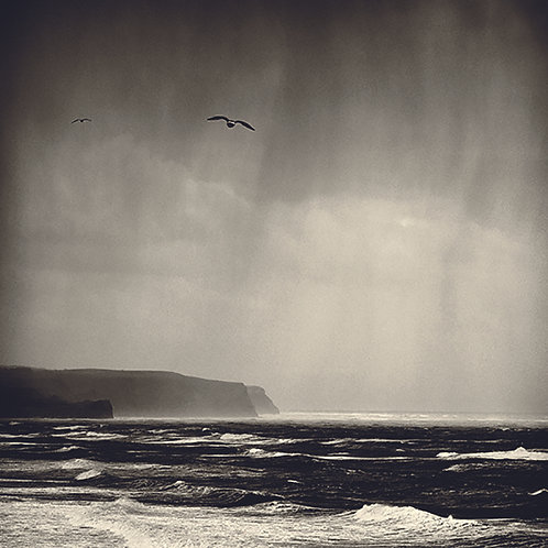 Whitby - Storm at sea