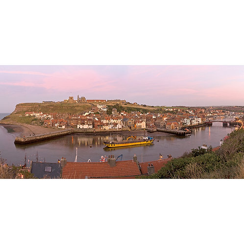 Whitby at Dusk (North Yorkshire)