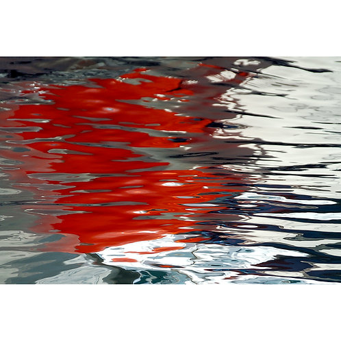 Red Reflection (Canvas)