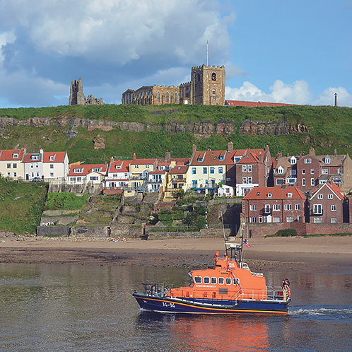 Whitby Abbey, Church & Lifeboat
