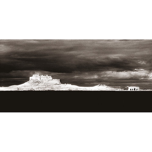 Holy Island - Infra Red (Castle and Lime Kilns)