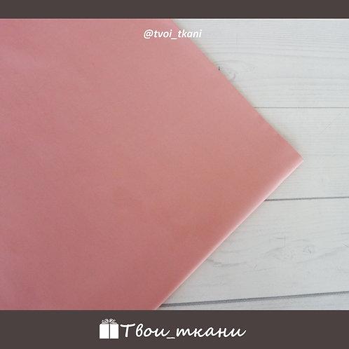 Сатин темный розовый