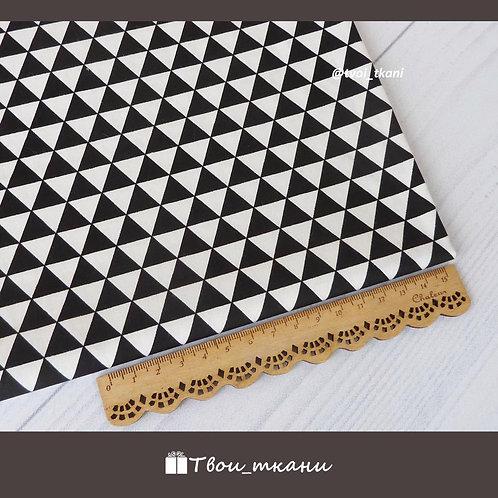 Треугольники черные
