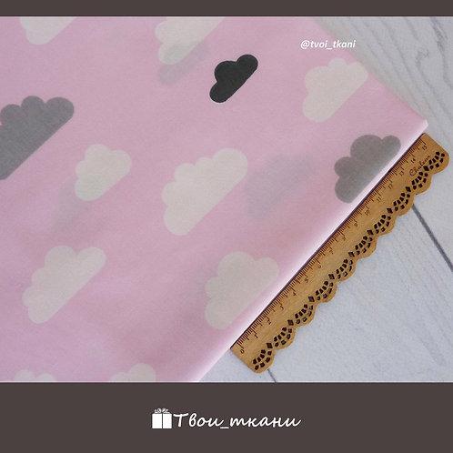 Облака на розовом