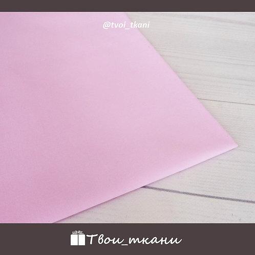 Сатин розовый