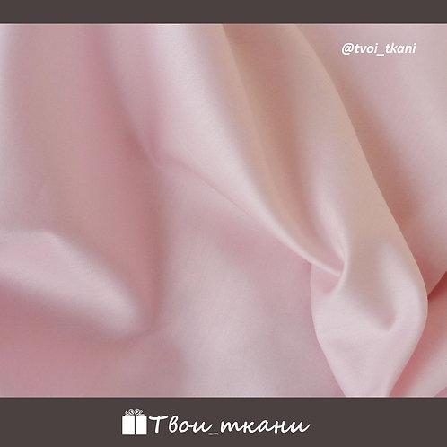 Сатин люкс светлый розовый