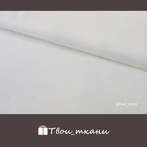 Бязь плотная белая