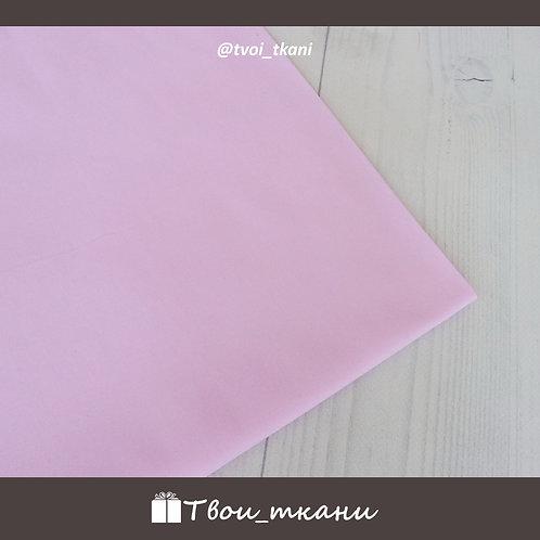Сатин нежный розовый