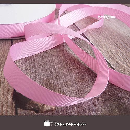 Лента репсовая 20мм розовый