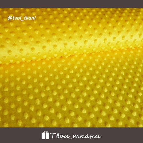 Плюш минки желтый