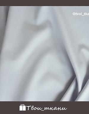 Сатин люкс мерсеризованный светлый серый