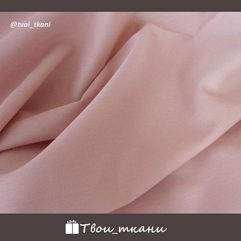 Сатин люкс пыльный розовый