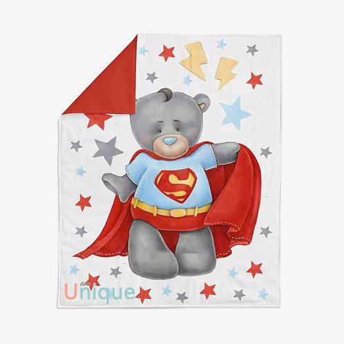 """Панель для одеяла 90*100см """"Супермен"""""""