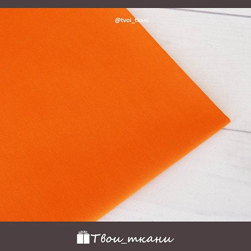 Сатин оранжевый