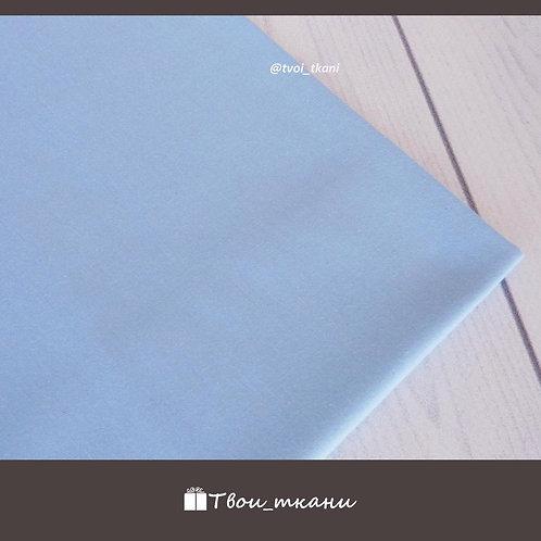 Голубой однотонный