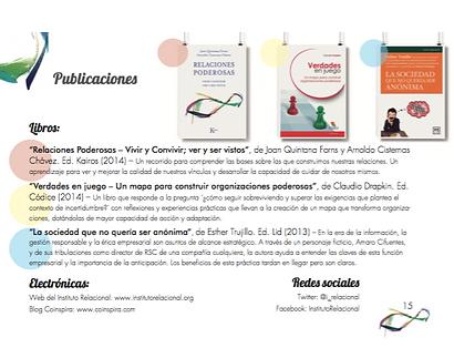 publicaciones instituto relacional