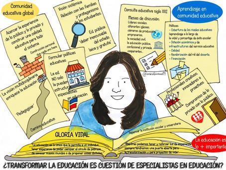 ¿Transformar la educación es cuestión de especialistas? Nuevo Episodio de Mudanzas con Pepe Menéndez