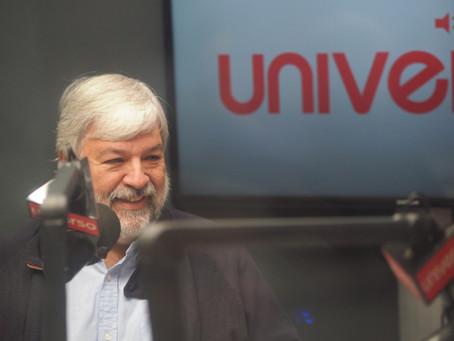 Revive la entrevista de Pepe Menéndez en Radio Universo