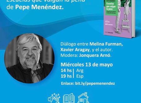 Presentación nuevo libro de Pepe Menéndez