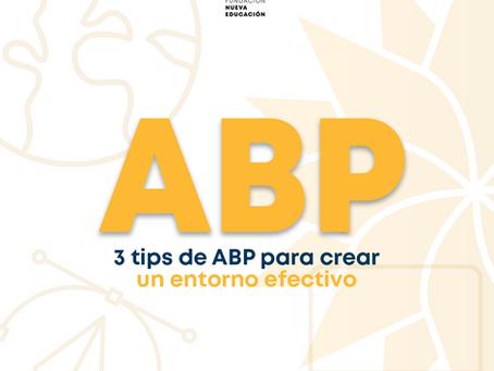 Creando el entorno para que el ABP sea efectivo