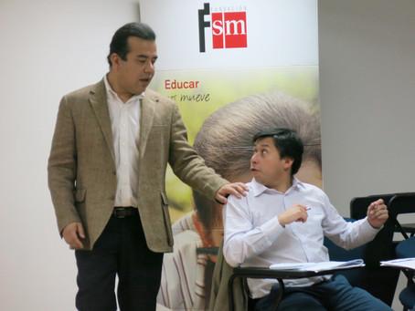 Directores del instuto se reúnen para dirigir taller de educación relacional en alianza con SM
