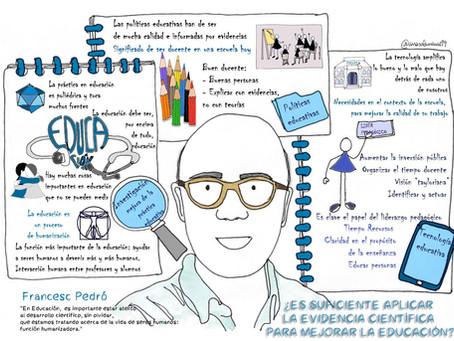 """Pepe Menéndez conversa con Francesc Pedró en """"Mudanzas: conversaciones educativas transformadoras"""""""