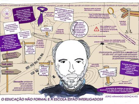¿Educación no formal y escuela están interrelacionadas?: Nuevo Mudanzas con Pepe Menéndez.