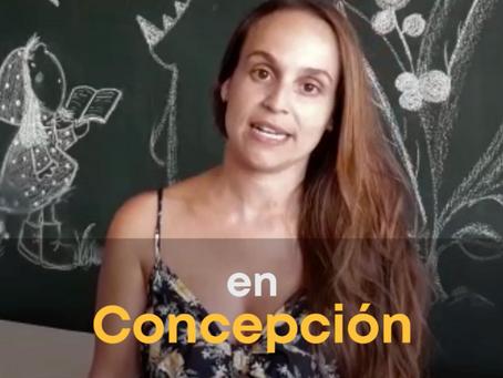 Video: Sandra Entrena se acerca a Concepción