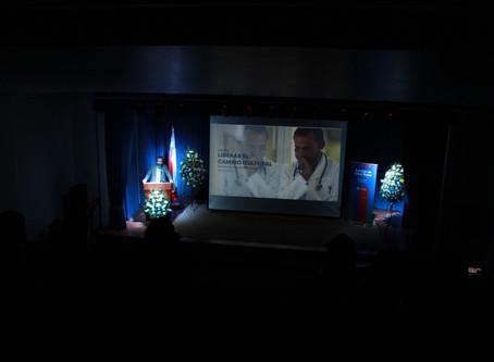 Arnoldo Cisternas fue el orador invitado en aniversario Servicio de Salud Ñuble