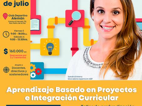 Atención Concepción: nueva fecha para el taller de ABP con Sandra Entrena