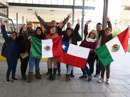 Profesores mexicanos participan en su primer taller en Chile