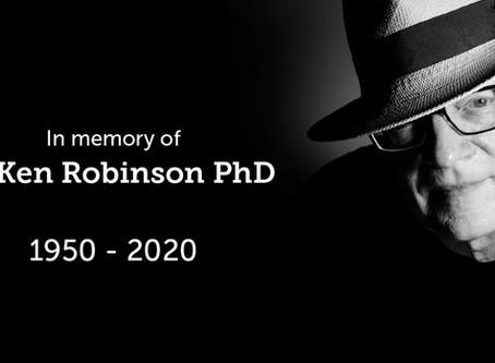 El legado de Sir Ken Robinson (1950-2020)