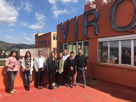 Fundación Sepade y Colegios Mayor comienza residencia en Escola Virolai de Barcelona
