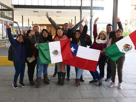 Profesores mexicanos se despiden de Chile luego de exitosa pasantía