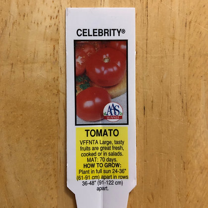 Tomato - Celebrity : 1 gallon pot