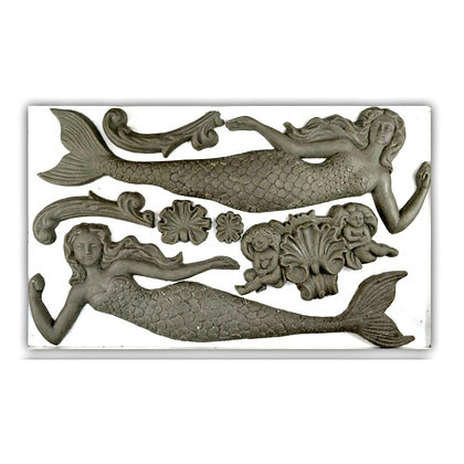 IOD Sea Sisters Decor Mould - 6 x 10 inches