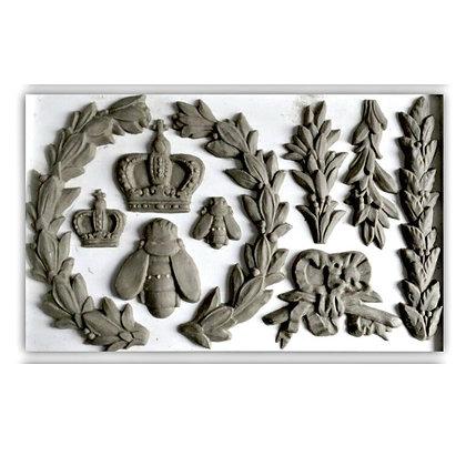 IOD Laurel Decor Mould- 6 x 10 inches