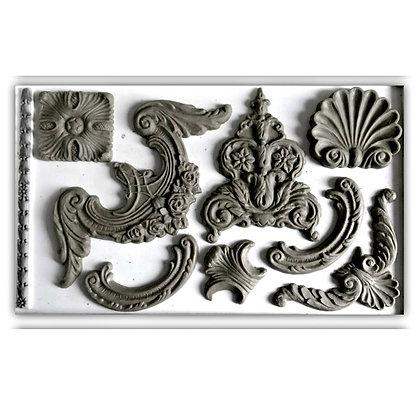 IOD Classic Elements Decor Mould - 6 x 10 inches