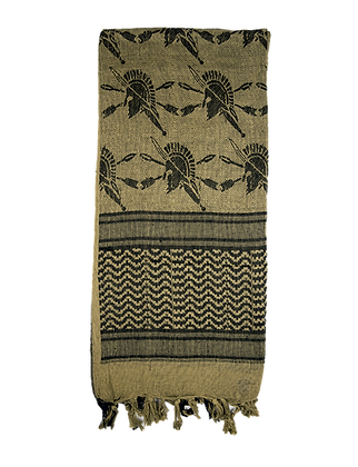 Desert Shemagh - Coyote/Black Trojan