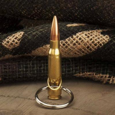 .308 Bullet Bottle Opener Keychain