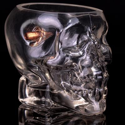 Headshot Whiskey Glass
