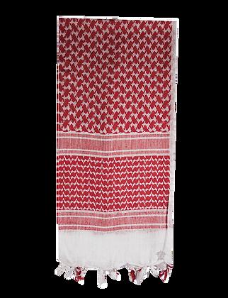 Desert Shemagh -Red/White