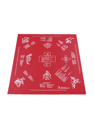 First Aid Survival Bandana