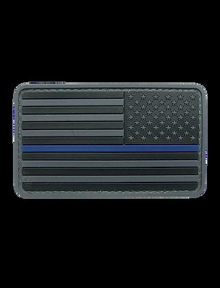 Blue Line Flag- Reversed