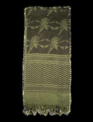 Desert Shemagh - Olive Drab/Black Trojan