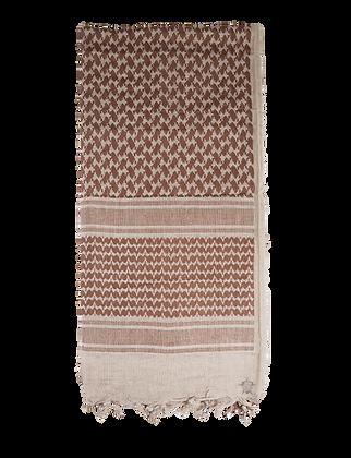 Desert Shemagh - Tan/Brown