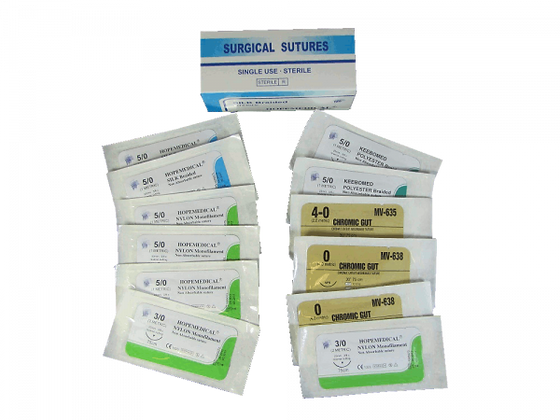 Sutures - Assorted