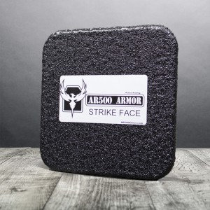 "Level III AR500 Armor® Side Plate 6"" x 6"" - Curved"